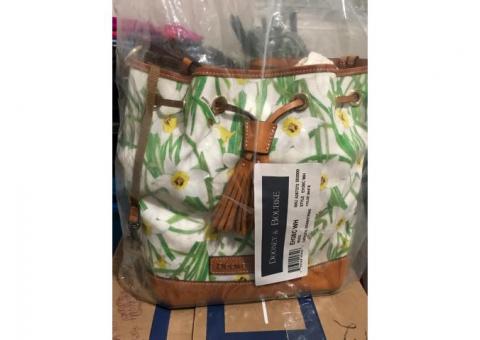 Dooney & Bourke Daffodil print shoulder bag