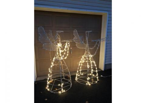 Lighted Angel Christmas Decorations