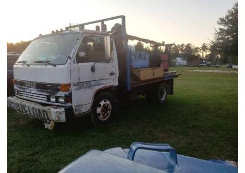 mounted welder  Isuzu truck